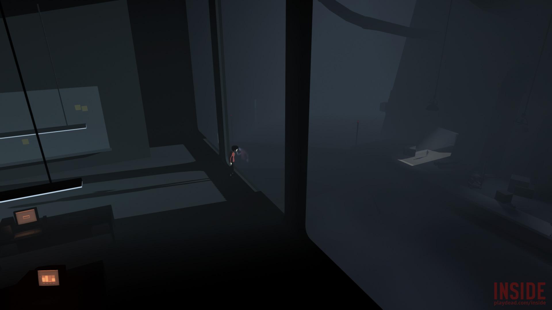 Analytical soft shadows for Playdead INSIDE