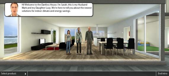 Danfoss Virtual House